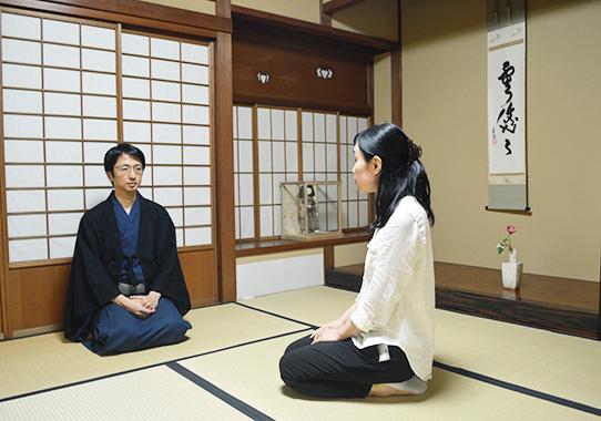 奈良宗久先生と石村雪枝さん
